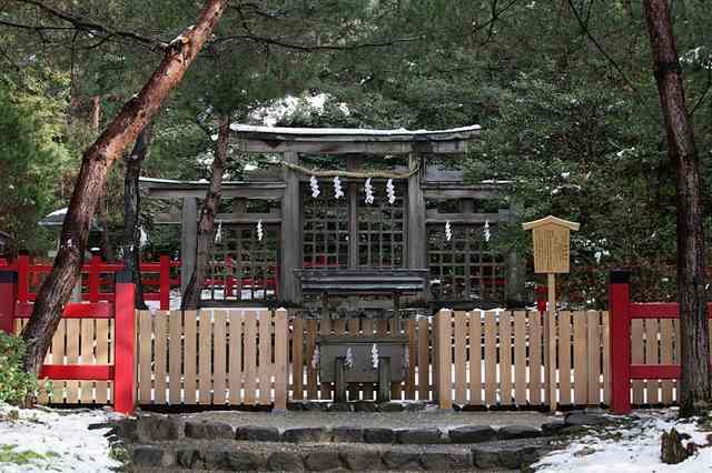 元伊勢の檜原神社
