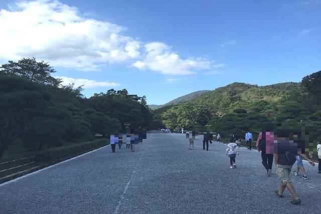 伊勢神宮の参拝(内宮・参道)