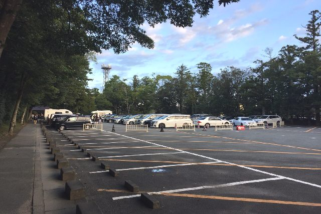 外宮駐車場