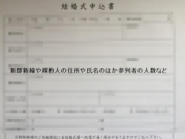 出雲大社の結婚申込書