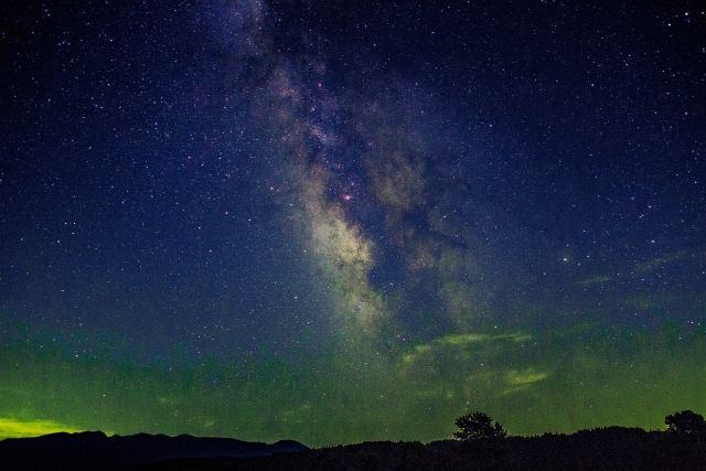 伊弉諾の夜空
