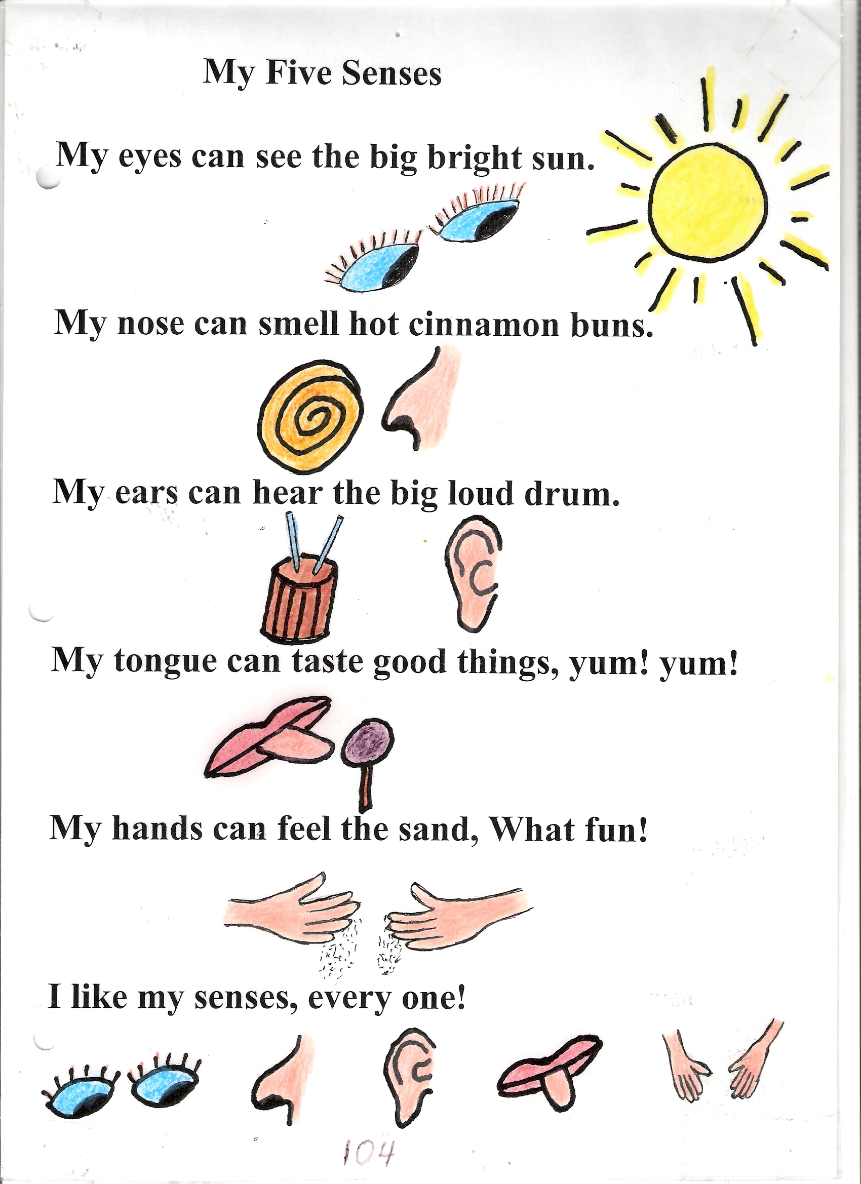 Five Sense Worksheet New 384 Our Five Senses Worksheets