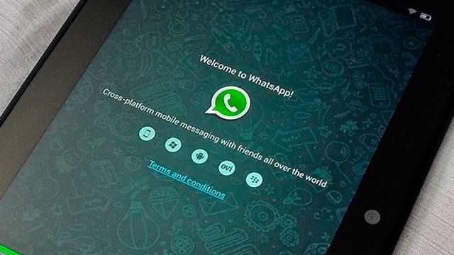 WhatsApp para iPad y tablets con Android