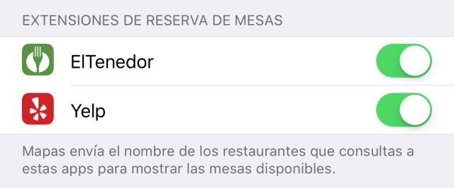 Cómo reservar mesa en un restaurante sin salir de Apple Maps
