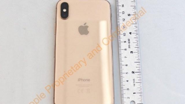 El iPhone X iba a tener una versión en dorado