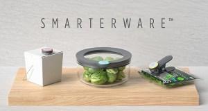 Ovie Smarterware, el Tupperware inteligente capaz de conectarse a Alexa y notificarte en tu smartphone que tu comida está a punto de caducar