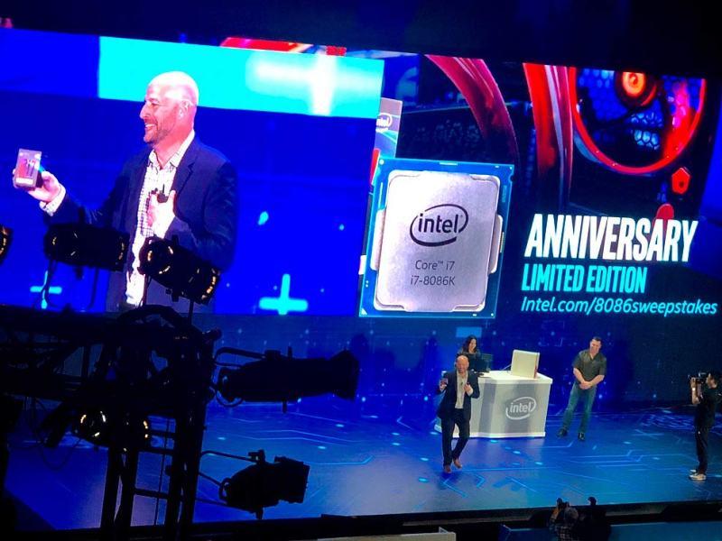 Intel ha presentado un procesador con 28 núcleos en la Computex2018 que llegaría a finales de año