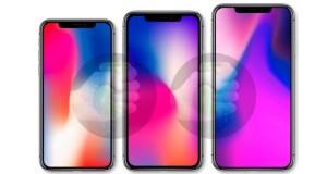 Apple bajaría el precio de los iPhone de 2018