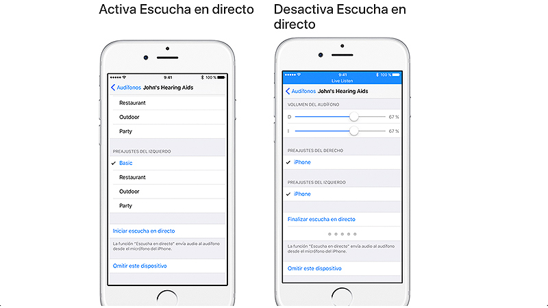 Escuchar en directo ahora también llega a tus AirPods de la mano de iOS 12
