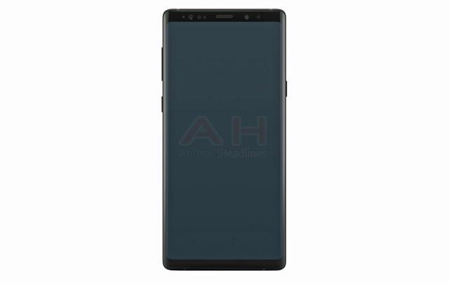 El Samsung Galaxy Note 9 sería parecido al Note 8