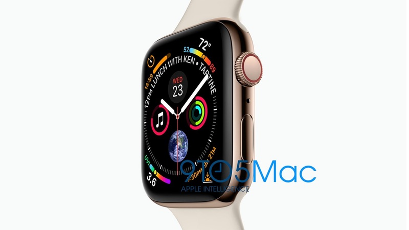 Filtrado el nuevo Apple Watch Series 4 al completo