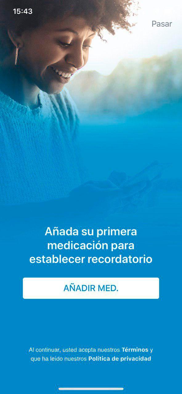 Recordatorios de Medicina te ayuda a recordar tus tomas de medicamentos