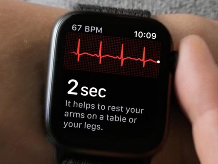 iOS 12.2 sugiere que la función ECG de los Apple Watch S4 podría llegar pronto a Europa