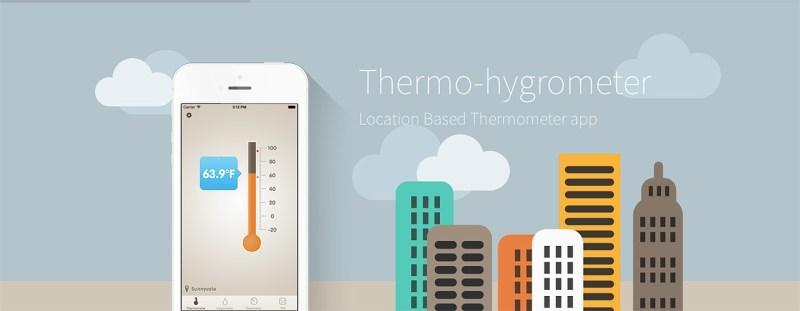 Con Thermo-hygrometer tenemos toda la meteorología real de un vistazo gracias al GPS
