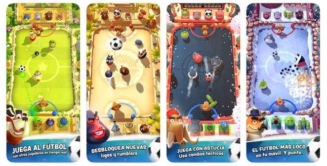 Rumble Stars Fútbol el mejor juego de fútbol para tu smartphone