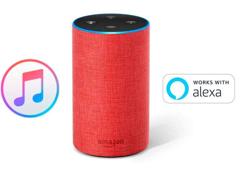 Así se reproduce Apple Music en Alexa con un altavoz Amazon Echo