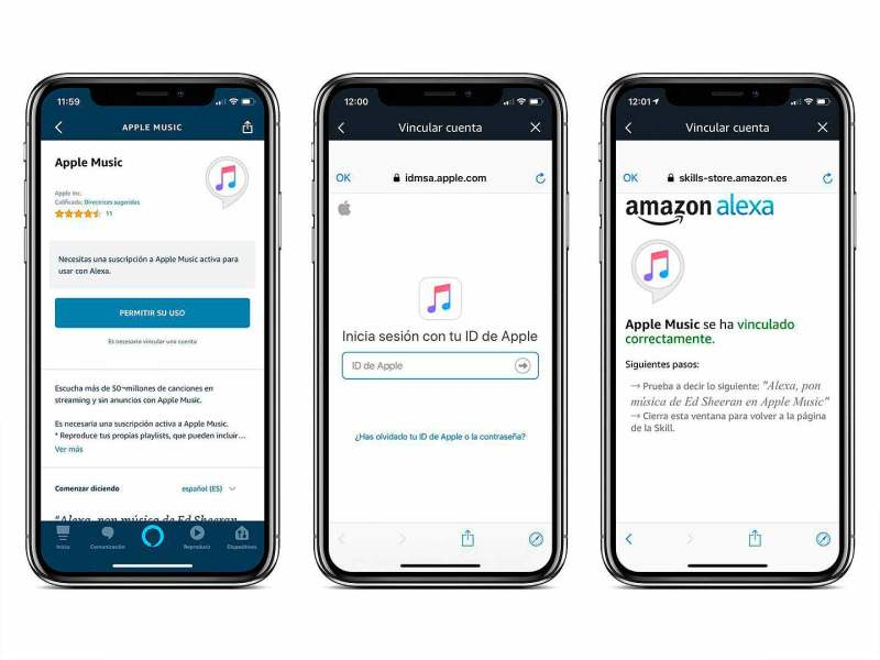 Configurando Apple Music para que funcione con Alexa de Amazon