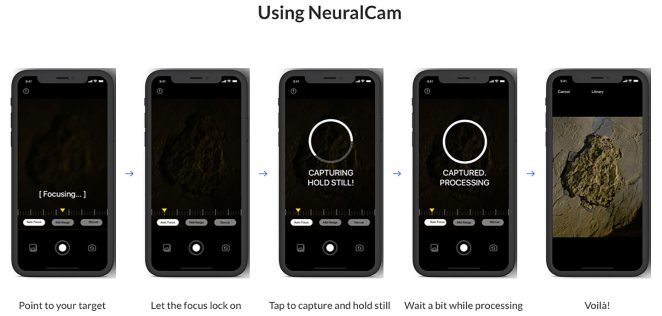 Así se usa NeuralCam en el iPhone
