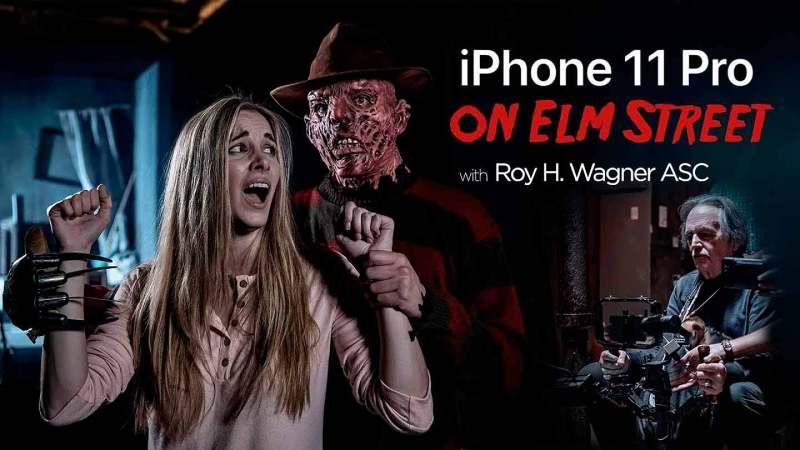 Freddy y su pesadilla en Elm Street vuelve al miedo de la mado de un iPhone 11 Pro