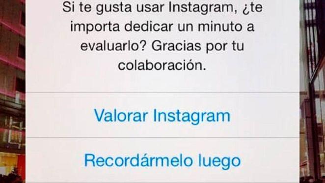 Desactivar notificaciones de valorar app en iOS