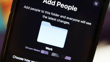 Así se pueden compartir carpetas en iCloud Drive con otras personas desde tu iPhone o iPad