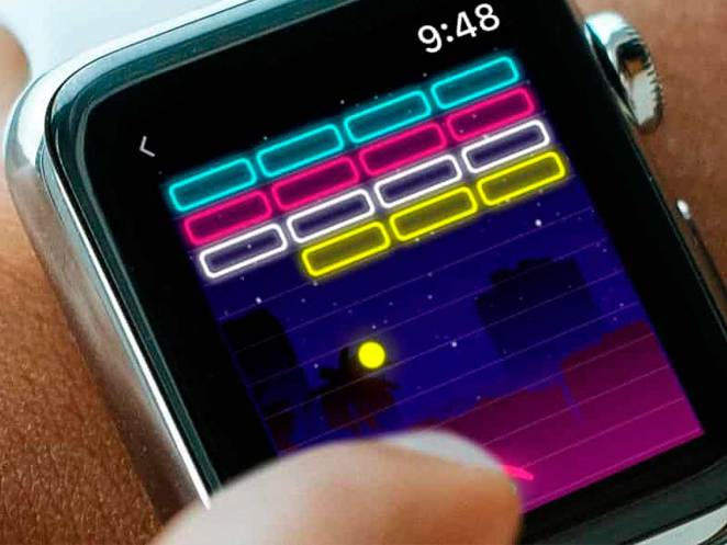 Así es jugar desde el Apple Watch con Arcade Watch Games