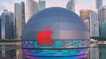 "Marina Bay Sands, la increíble Apple Store ""flotante"" de Singapur, abrirá mañana"