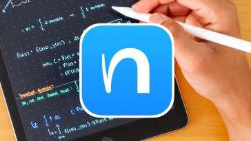 App Nebo convertir texto escrito iPad