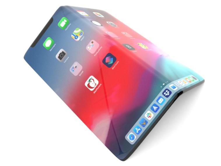 Apple podría estar trabajando en un iPhone plegable