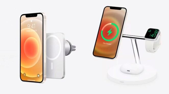 Accesorios de Belkin para el MagSafe del iPhone 12
