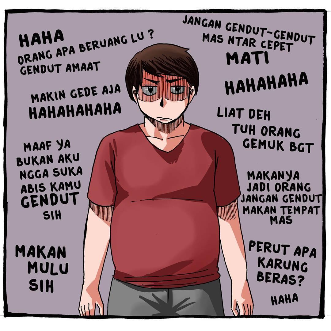 20 gambar kartun lucu orang gemuk  Lucu Sekali Ayo Ketawa