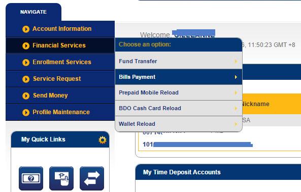BDO Pay Bills Tutorial