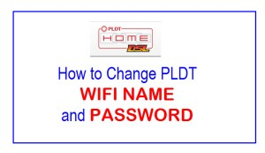 Change PLDT Wifi Name and Password