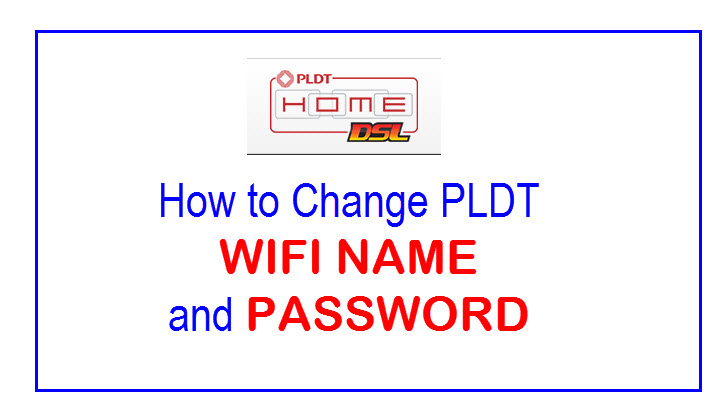 How to change pldt home dsl wifi password and username