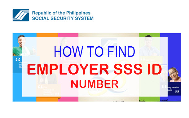 How to Find SSS Employer ID Number –  SSS Online Registration