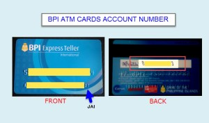 How to Find Account Number of BPI ATM Card and What is JAI No?