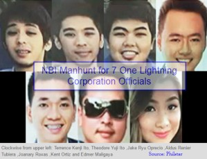 NBI Manhunt for 7 One Lightning Corporation Officials