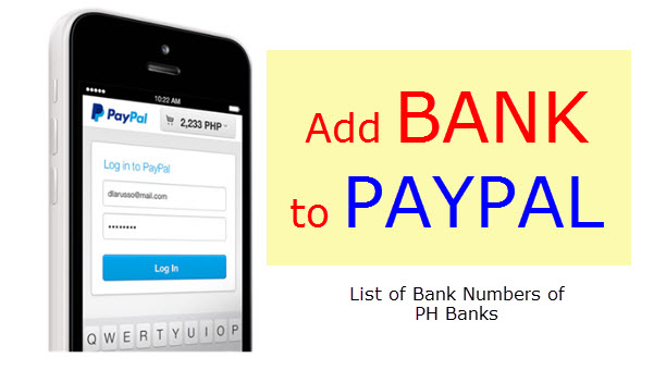 Nummer Paypal