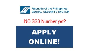 How to Apply for SSS Number Online – New Member Application