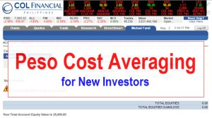Peso Cost Averaging for New Investors – COL Financial EIP