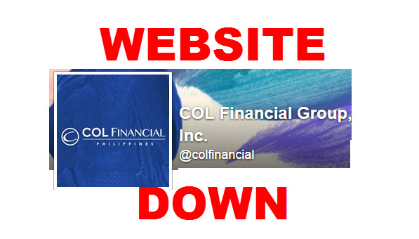 COL Financial Website Down – Stock Trading Platform Inaccessible
