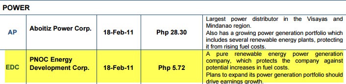 EDC Recommended by COL Financial for EIP Peso Cost Averaging