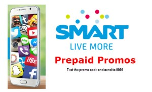 Smart Prepaid Promo code to text