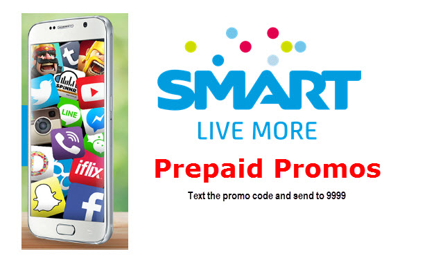 Avail SMART PREPAID Promos – Text Promo Code for ALL in 25, Unli Call and Text 25, etc