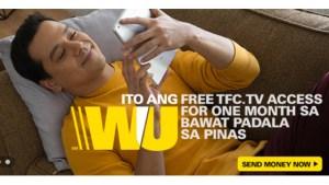 Western Union Promo FREE TFC Access