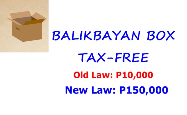 NEW LAW: TAX FREE Balikbayan Box Up to P150,000 | Super Section 800 of CMTA