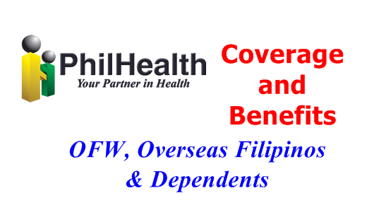 Philhealth for Overseas Filipinos and OFWs – BENEFITS