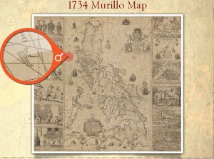 1734 Murillo Map of the Philippine Islands