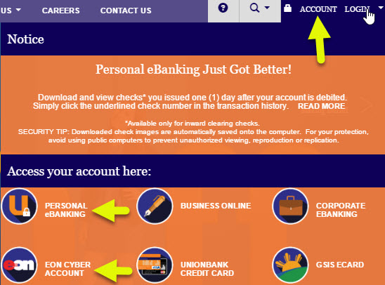 How to login to Unionbankph online