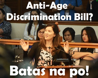 Anti-Age-Discrimination-Bill-Pia-Cayetano Job Application For Bdo on high schoolers outline, professional email examples, to write,